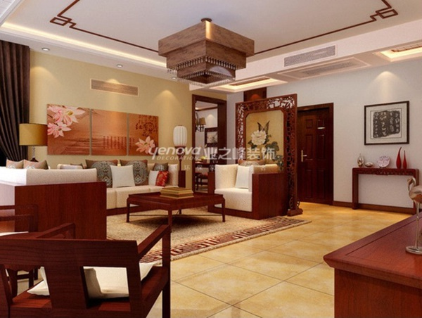 3 ý tưởng bài trí phòng khách theo phong cách Trung Hoa 6