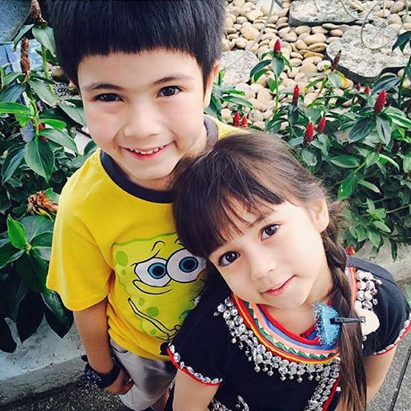 Cặp anh em nhí Thái Lan đẹp như thiên thần khiến nhiều người mê mẩn 2