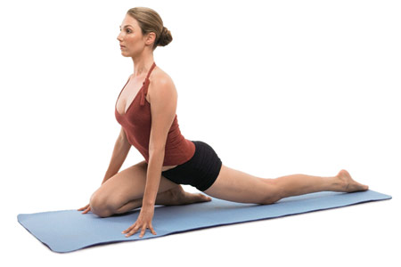 Bài tập Yoga tốt cho người bị đau thắt lưng 5