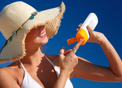 dùng kem chống nắng sai cách