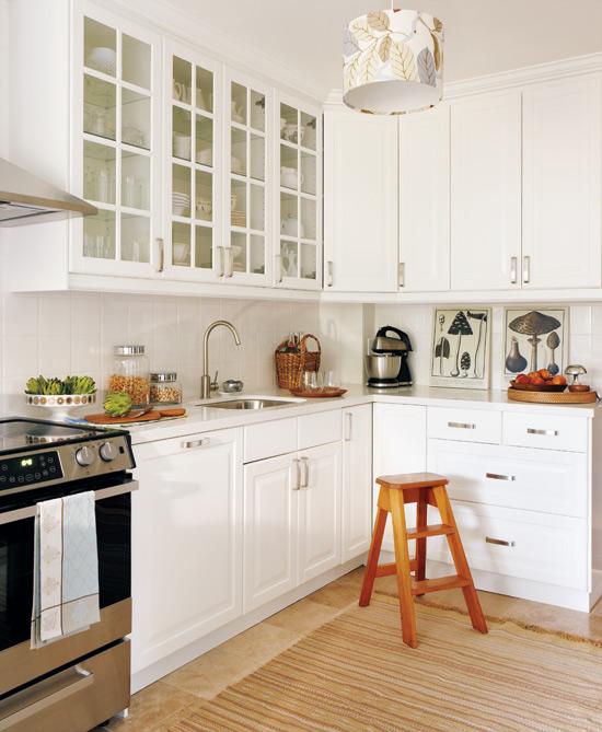 Trắng - Gam màu hot dành cho phòng bếp năm 2014 8