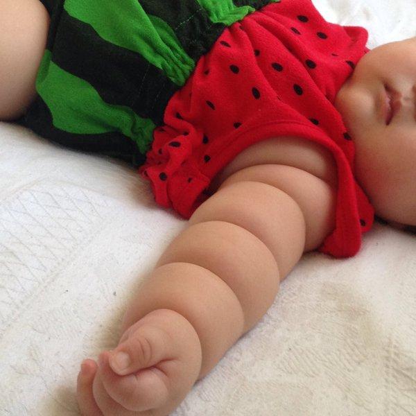 Không thể cưỡng lại độ dễ thương của trào lưu cánh tay ú nần của con nít như ổ bánh mỳ ở Nhật - Ảnh 9.