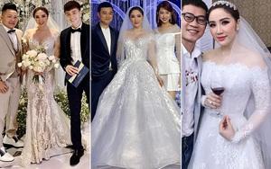 """Trầm trồ trước 4 mẫu váy cưới của Bảo Thy: Gợi cảm hết nấc, đến bồng xòe đúng chất """"Công chúa bong bóng"""" rồi lại đài các tiểu thư"""