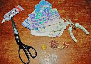 Biến khăn voan thành vòng tay vintage dịu dàng 2
