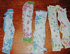 Biến khăn voan thành vòng tay vintage dịu dàng 3