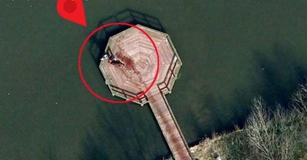 Google Earth chụp được hiện trường vụ án đẫm máu khiến dân mạng rùng mình yêu cầu cảnh sát điều tra trước khi vỡ lẽ ra câu chuyện đáng yêu