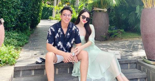 """20/10 đầu tiên bên nhau, Hương Giang và Matt Liu khiến cộng đồng mạng """"ghen đỏ mắt"""" vì hành động tình tứ này"""