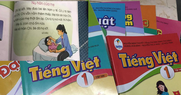 Một bài tập đọc trong sách tiếng Việt 1 khiến hội phụ huynh chia 2