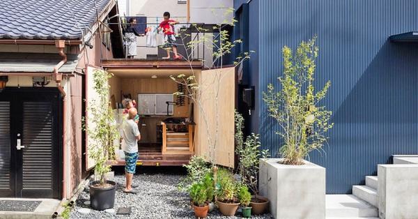 Căn nhà phố nhỏ xinh ở Nhật Bản được mệnh danh là