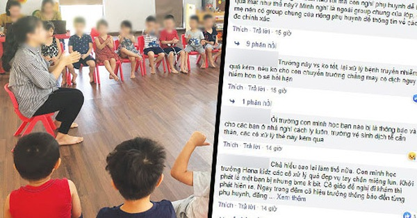 1 trường mầm non ở Hà  khiến phụ huynh bức xúc vì giấu kín chuyện học sinh bị bệnh truyền nhiễm, hàng loạt em bị lây sau đó
