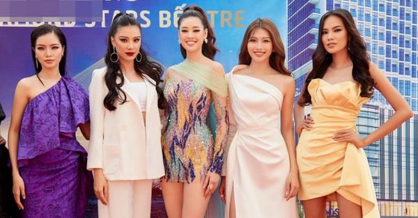 Hoa hậu Khánh Vân gợi cảm nổi bật giữa dàn người đẹp