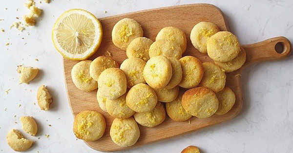 Mách chị em cách làm món bánh quy chanh giòn rụm
