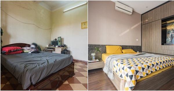 Gia chủ tự tay cải tạo phòng ngủ với chi phí 200 triệu, đầu tư luôn góc làm việc tại gia