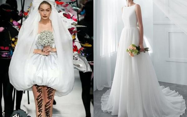 Từng tiết lộ về chiếc váy cưới trong mơ, nhưng trong hôn lễ Tóc Tiên lại diện thiết kế hoàn toàn khác biệt