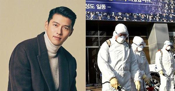 Dịch bệnh Covid-19 diễn biến nghiêm trọng tại Hàn Quốc, Hyun Bin vẫn khiến trái tim các fan tan chảy vì hành động này