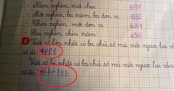 Dạy con học toán, bé làm sai