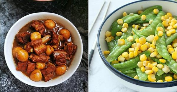 Bận rộn thì cơm tối chỉ 2 món này thôi là vừa ngon vừa tốn ít công sức trong bếp!