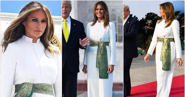 Bà Melania Trump khí chất ngút ngàn khi diện jumpsuit trắng nhưng ý nghĩa thú vị sau đó mới càng khiến dân tình trầm trồ