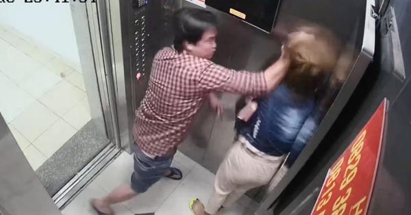 Cô gái trẻ bị một người đàn ông túm tóc, đánh dã man trong thang máy tại chung cư ở Sài Gòn