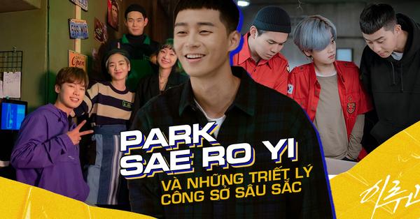 Không chỉ điển trai, anh chủ Park Sae Ro Yi còn gửi gắm nhiều triết lý công sở sâu sắc qua