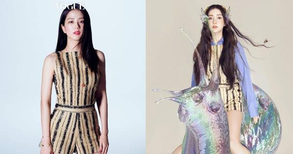 Đẹp như hoa hậu nhưng ăn vận quá an toàn, Ji Soo thất thế trước Angela Baby với màn