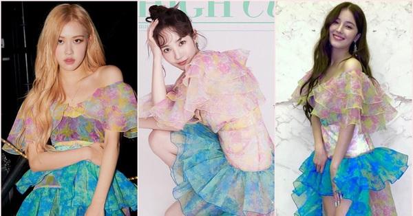 Đụng váy với Rosé và Nancy (Momoland): Park Min Young tuy lớn tuổi nhất mà trẻ xinh quá đỗi, Nancy vừa sến súa vừa dìm dáng