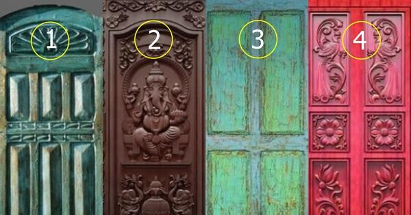 Chọn 1 trong 4 cánh cửa bạn muốn bước vào nhất sẽ tiết lộ tính cách và con người sâu thẳm của mình mà bạn không muốn đối mặt nhất