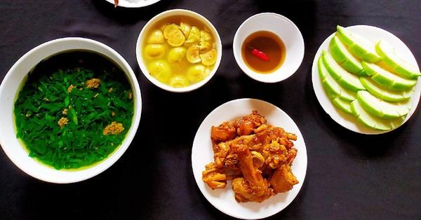 Mâm cơm giản dị đủ chất mà ngon miệng, cả nhà ai cũng thích mê