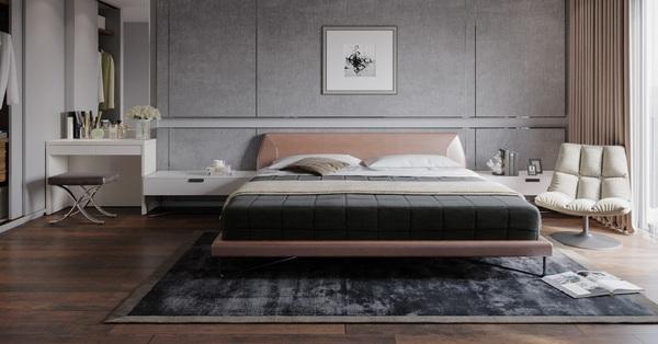 Tư vấn thiết kế phòng ngủ có tổng diện tích 28m² đầy đủ công năng cho vợ chồng mới cưới với chi phí gần 32 triệu