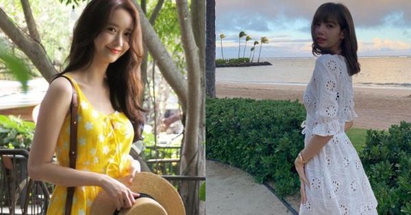 Ngắm Instagram của sao Hàn, bạn sẽ kiếm được kha khá gợi ý váy áo xinh như mộng diện trong Hè này
