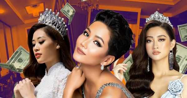 Đặt lên bàn cân phần thưởng khiến các Hoa hậu đổi đời sau đêm chung kết: Hoa hậu Việt Nam lép vế trước độ