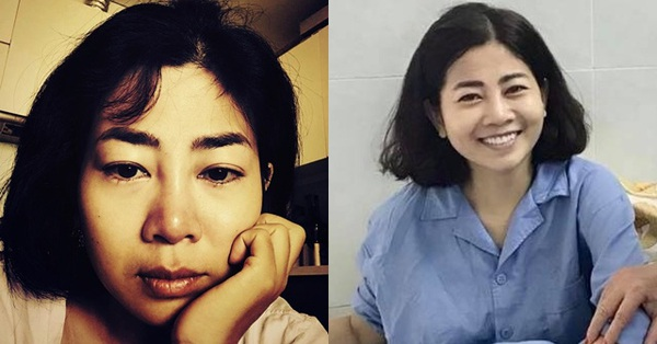 Xót xa hình ảnh 2 tháng trước của Mai Phương, đôi mắt ngấn lệ nhìn mà quặn lòng