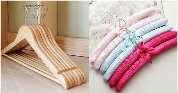 Lựa chọn 5 loại móc treo này đảm bảo cân đủ các loại quần áo khó chịu nhất trong tủ đồ, giá thành còn phù hợp với điều kiện kinh tế của các chị em