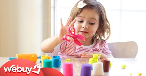 Gợi ý vài món đồ chơi bố mẹ nên mua làm quà 1/6, con chơi vừa vui vừa kích thích phát triển trí tuệ, kĩ năng