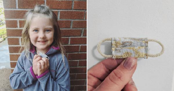 Sợ cô tiên răng không đến được vì giãn cách xã hội, hành động của cô bé 7 tuổi khiến ai cũng bất ngờ