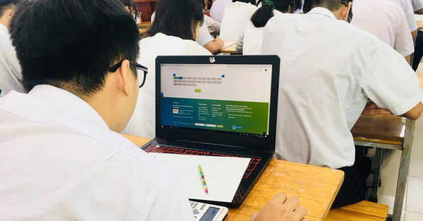 Ba đợt khảo sát trực tuyến chất lượng học sinh lớp 12: Làm thế nào mới hiểu quả?