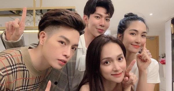 """Tổ hợp """"lầy lội"""" của showbiz Việt: Mỗi lần Hương Giang gặp gia đình Hoa dâm bụt là fan lại có dịp cười thả ga vì những màn tấu hài"""