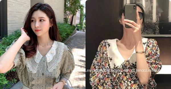 Áo blouse tiểu thư - thiết kế đang được hội gái xinh Hàn Quốc thi nhau diện hè này