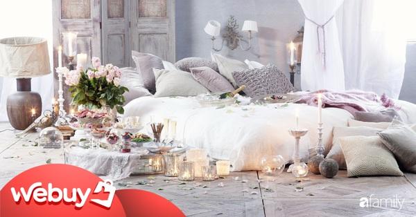 Tự tay trang trí phòng cưới lãng mạn với loạt phụ kiện giá chưa đầy 500.000 đồng