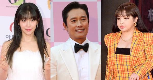 Thảm đỏ Daejong Film Awards 2020: Park Bom (2NE1) xuất hiện với thân hình quá khổ,