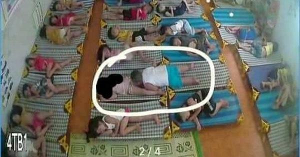 Mở camera xem con ngủ trưa, phụ huynh Hải Phòng