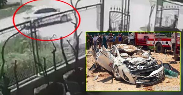 Clip: Khoảnh khắc kinh hoàng xe tải chở đất đè bẹp xe con, 3 người trong gia đình tử vong, 1 bé trai nguy kịch ở Thanh Hóa