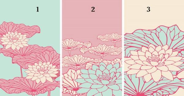 Chọn lấy một bông hoa sen bạn thích nhất để nhận lời dự đoán cho vận may của bạn trong thời gian tới