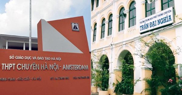 Bộ GD-ĐT khẳng định trường THCS Hà Nội - Amsterdam và THCS Trần Đại Nghĩa không phải trường chuyên, cha mẹ tránh nhầm lẫn