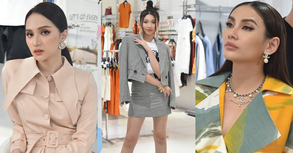 Hoa hậu nhí 15 tuổi cao 1m74 có đôi chân còn nuột hơn cả Võ Hoàng Yến - Hương Giang