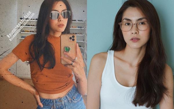 Bà mẹ 2 con Hà Tăng dám diện kiểu crop top sexy mà nhiều nàng gái đôi mươi cũng phải dè chừng