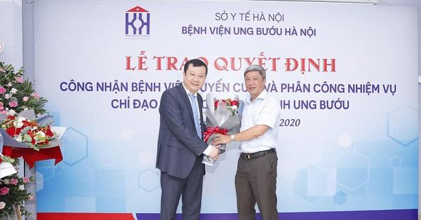 Hà Nội thêm một bệnh viện được Bộ Y tế công nhận là tuyến cuối khám, chữa bệnh chuyên khoa ung bướu cùng Bệnh viện K
