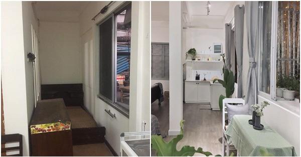 3 tuần hô biến căn hộ chung cư cũ 70m² ở Sài Gòn thành 2 căn hộ đẹp tối giản với chi phí 270 triệu đồng
