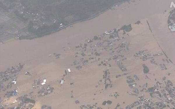 Cập nhật mưa lớn tại Nhật Bản làm hàng chục người mất tích, bị thương