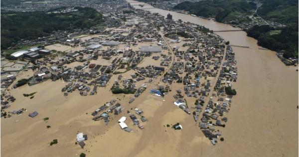 Mưa lũ nghiêm trọng tại Nhật Bản, Trung Quốc